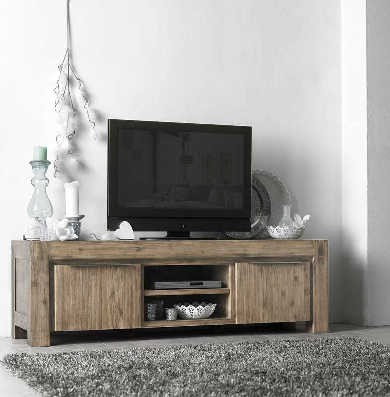 Tv Meubel Salzburg Acaciahout Grey Wash