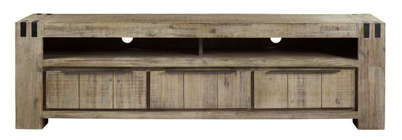 TV-Dressoir Bassano rough warm grey