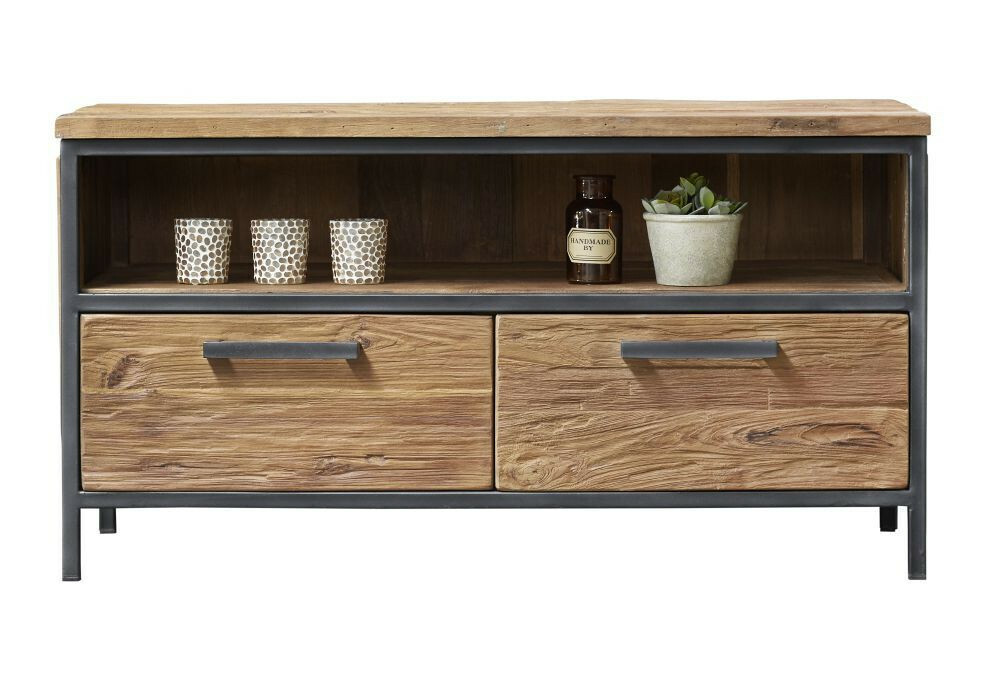 TV-Dressoir Romaro teak mix rough