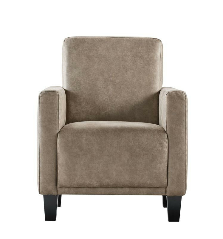 Fauteuil Andora microleder liver