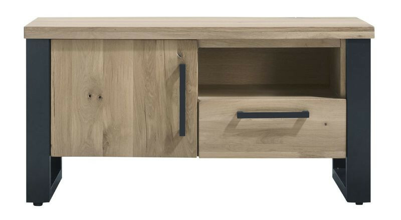 TV-meubel Verato (118 breedte) naturel grey