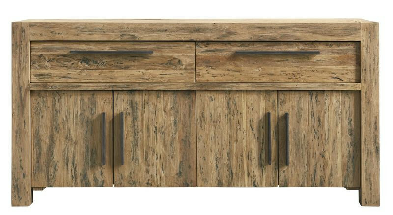 Dressoir Travi (156 breedte) teak black wash
