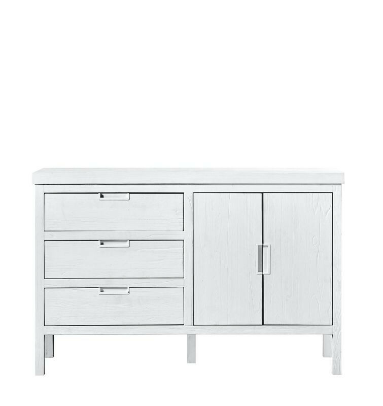 TV-Meubel Stretto White (138 breedte) mindi hout
