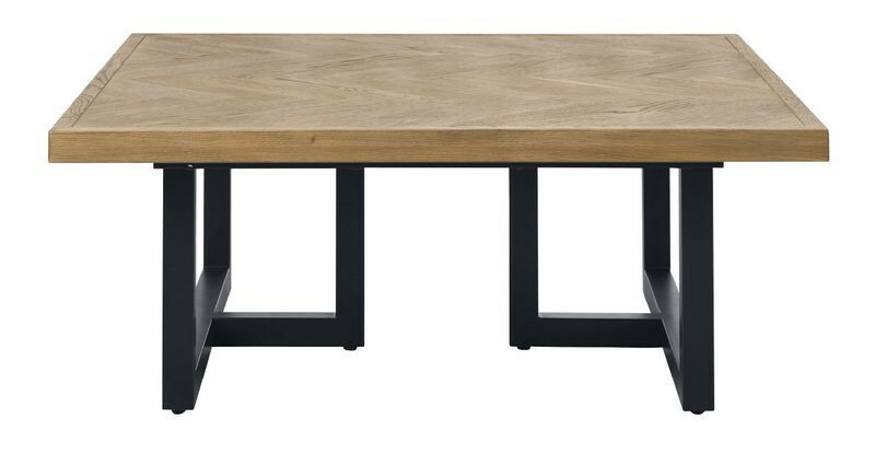 Salontafel Veneta (B95xL95) eiken fineer naturel