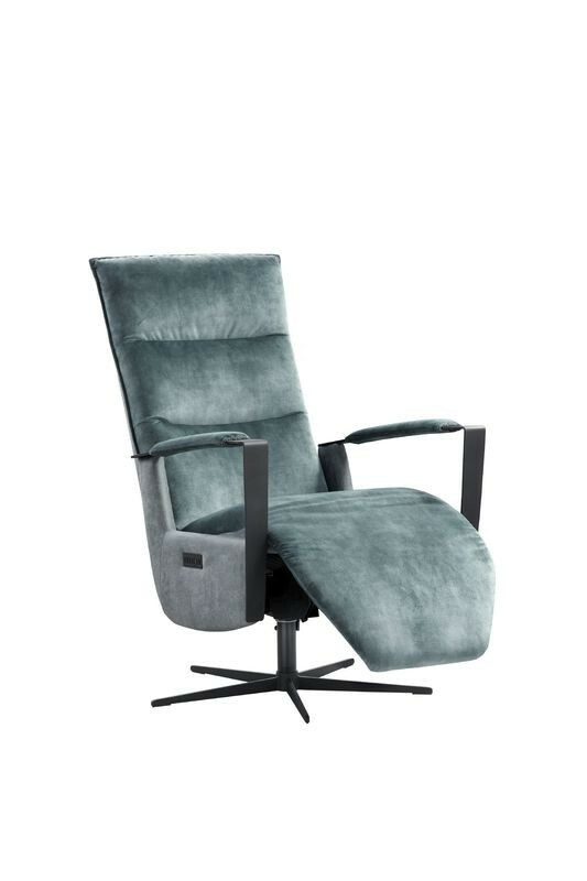 Relaxfauteuil Seduto pocket/visco zitting elektrisch