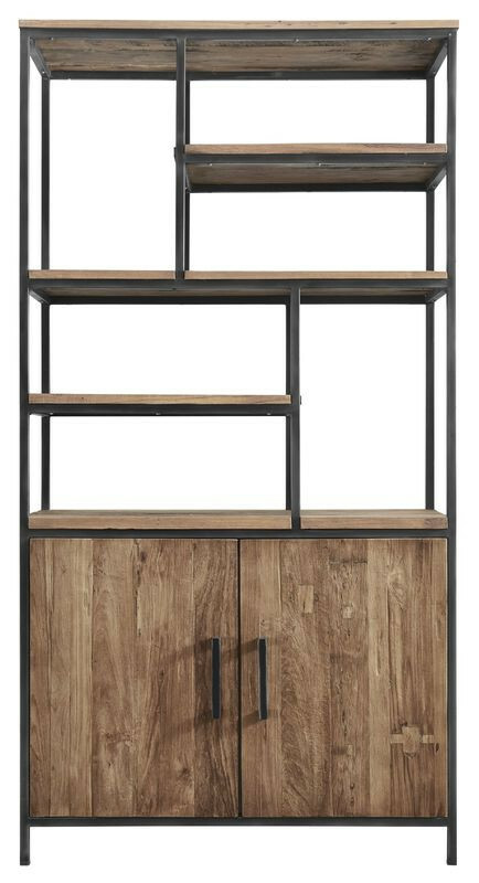 Boekenkast Romaro (98 breedte) teak mix rough