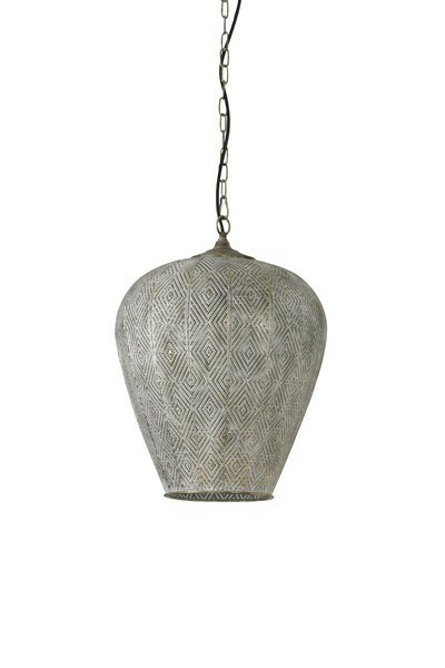 Hanglamp Olbia goud wit