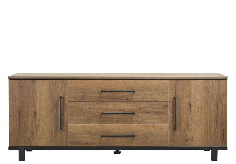 Dressoir Adanti (220cm breed) tabacco decor