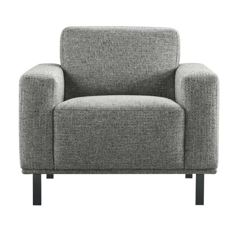 Fauteuil Pantini polyether zitting graphite