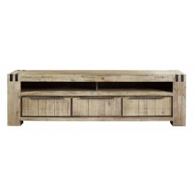 TV-Dressoir Bassano acaciahout light grey