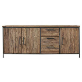 Dressoir Romaro (195 breedte) teakhout mix rough