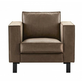 Fauteuil Tazzo HR-schuim zitting brown