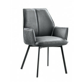 Eetfauteuil Botello rhino grey
