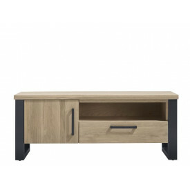 TV-meubel Verato (150 breedte) naturel grey