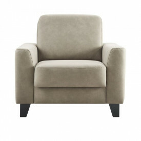 Fauteuil Mano polyether zitting taupe