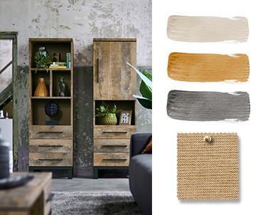 Natural Twist: Kleuren & Materialen