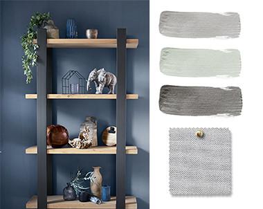 Blue Loft: Kleuren & Materialen